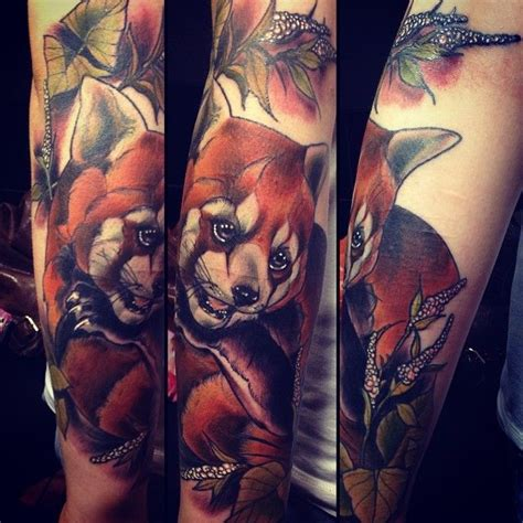 red panda tattoo 17 best ideas about panda on