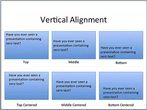 layout manager vertical alignment text layout options in powerpoint 2011 for mac mac