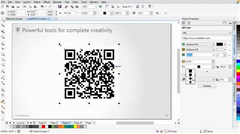 corel draw x6 qr codes coreldraw 174 graphics suite x7 new qr code generator youtube