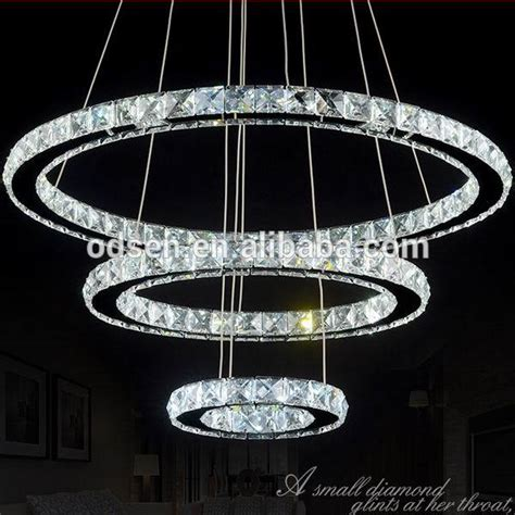 Circle Crystal Chandelier Circle Ring Modern Fancy Chandelier Buy