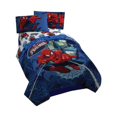 spiderman twin comforter ultimate spiderman twin full comforter walmart ca