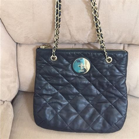 Dkny Black Quilted Handbag by 65 Dkny Handbags Dkny Quilted Black Nappa Leather