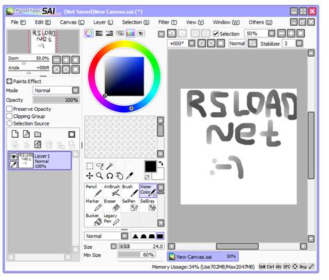 paint tool sai 2 beta скачать painttool sai 1 2 0 1 repack