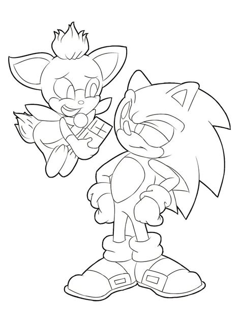 chip sonic unleashed coloring pages coloring pages