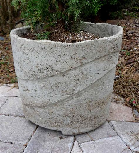 Large Concrete Planter by 301 Moved Permanently