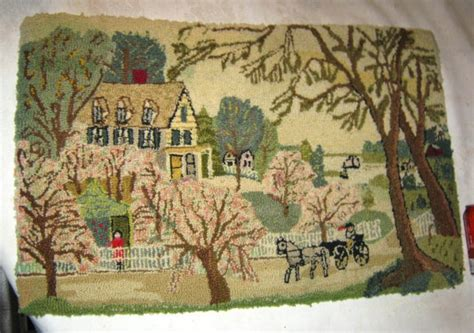 country hooked rugs antique country farm hooked rug hooked rugs