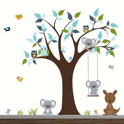 stickers arbre pour chambre bebe ophrey com stickers arbre bleu chambre bebe