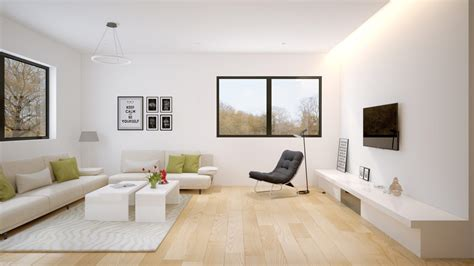 interior  design high quality open plan interior
