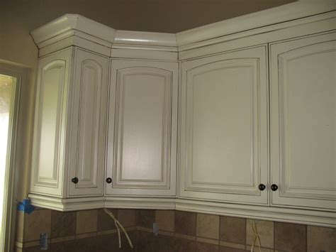 Beautiful How To Paint Stained Kitchen Cabinets White And