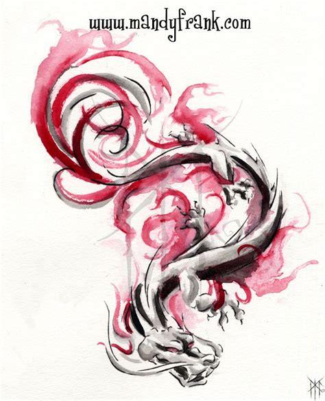 eastern dragon tattoo designs watercolor dragons eastern tattoos