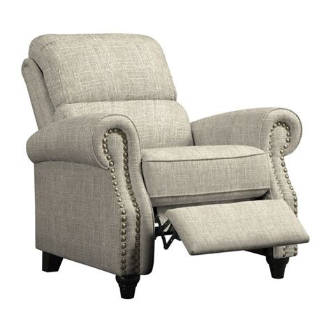 Reclining Back Chair Fabric Wingback Recliner Www Pixshark Images