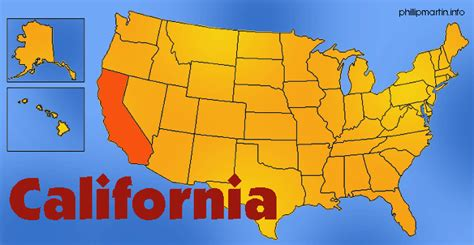 california map golden state warning issued to citizens and population living in these