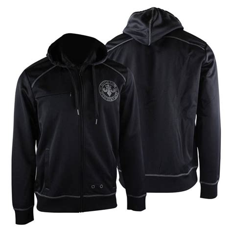 Hoodie Zipper Sweater Ufc Trainer affliction sport space zip up hoodie black gray mma ufc ebay