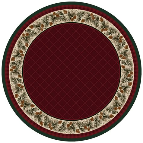 8 Ft Rug by Evergreen Burgundy Rug 8 Ft
