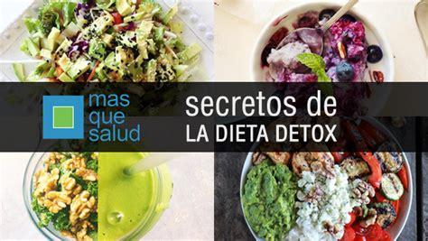 Dietas Detox Recetas by 191 Qu 233 Es La Dieta Detox Secretos De La Dieta Detox O