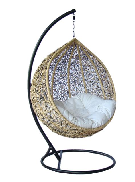 the swing chair truly outdoor wicker swing chair y003ab