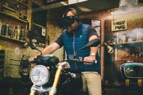 Bmw Motorrad M Nchen Probefahrt by Bmw Bietet Virtuelle Probefahrt Mit Motorrad An Bmw News