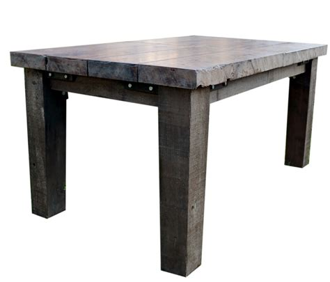 redwood dining table reclaimed redwood dining table brass tacks home