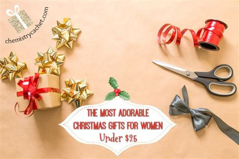 the most adorable christmas gifts for women under 25