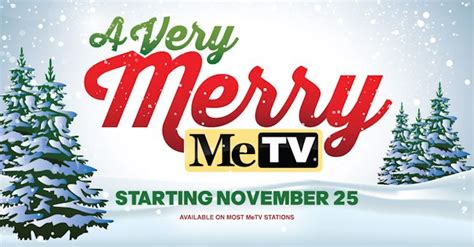a very merry metv holiday schedule the cw mid season 2017