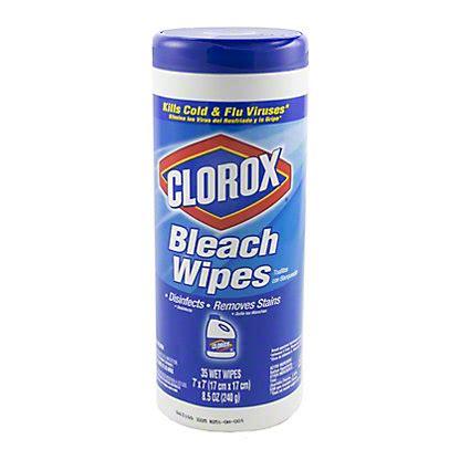 clorox bleach wipes  ct central market