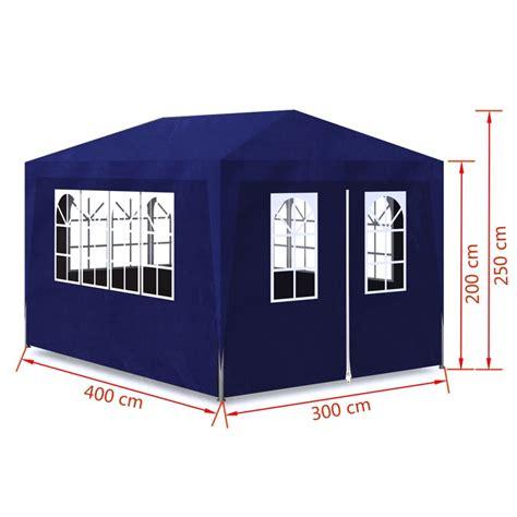 gazebo per feste articoli per vidaxl gazebo da esterno tenda per feste 3 x