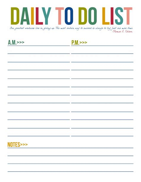 free weekly to do list template free printable to do list templates calendar 2018