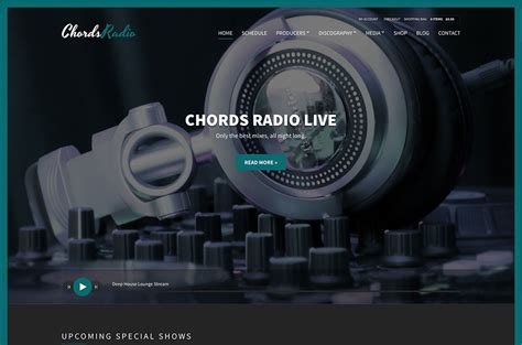 best web radio top 10 popular radio station themes 2018 colorlib