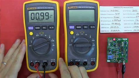 Multimeter Fluke 17b review fluke 17b and new international version