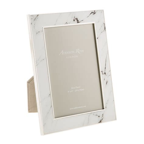 4x6 Photo Frames by Buy Ross White Marble Photo Frame 4x6 Quot Amara