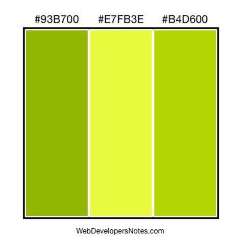 combination color for green green color combinations