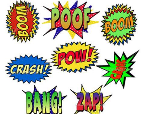 comic book speech bubbles printable clipart best