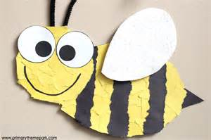 bee template bee craft template primary theme park