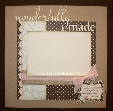 A Scrapbook Layout Of You by Is March 2010