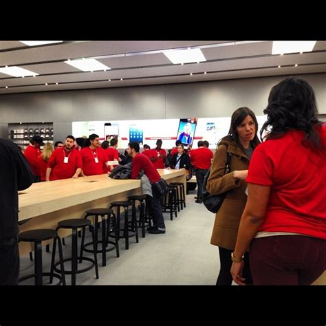 apple yorkdale apple stores worldwide go red to support world aids day