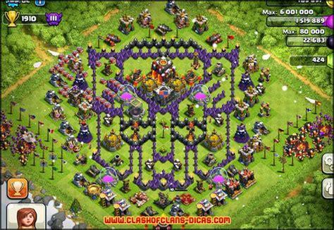 layout coc cv9 os layouts mais criativos e bizarros em clash of clans