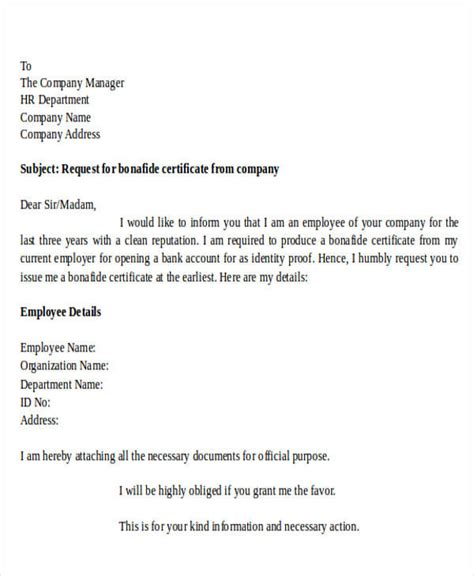 request letter for certificate from college formal request letters