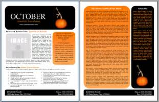 microsoft word newsletter template index of images
