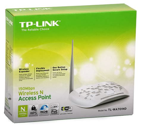 Tp Link Access Point Tl Wa701nd access point tp link tl wa701nd 2 4ghz 802 11n 150mb s