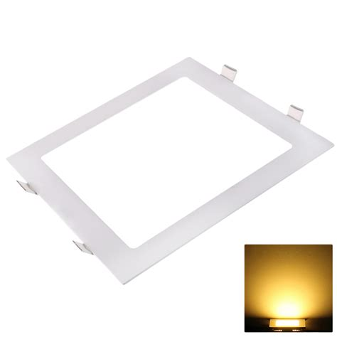 flat led ceiling lights 9w 12w 18w 24w led round square recessed ceiling flat