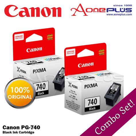 Canon Black Ink Cartridge Pg 740 Canon Black Ink canon pg 740 black ink cartridge 11street malaysia toners inks