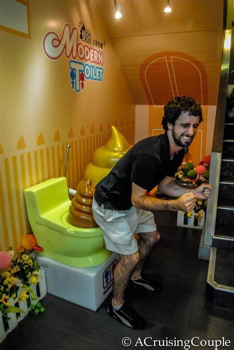 bathroom themed restaurant taipei theme restaurants tutus to toilets a cruising couple