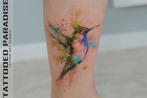 watercolor tattoos by dope indulgence made in shoreditch
