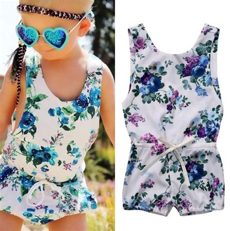 16 So Floral Turquoise Rompers children summer rompers toddler baby floral jumper romper jumpsuit one pieces