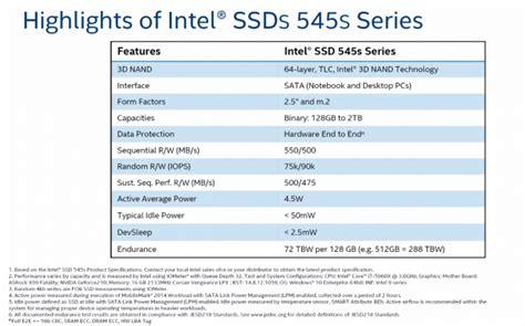 Intel Ssd 535 Series Sata 3 480 Gb intel ssd 5 545s 512gb sata iii ssd review