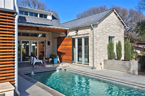 eye catching cool modern house with swimming pool closed modern farmhouse features a cool indoor slide in texas