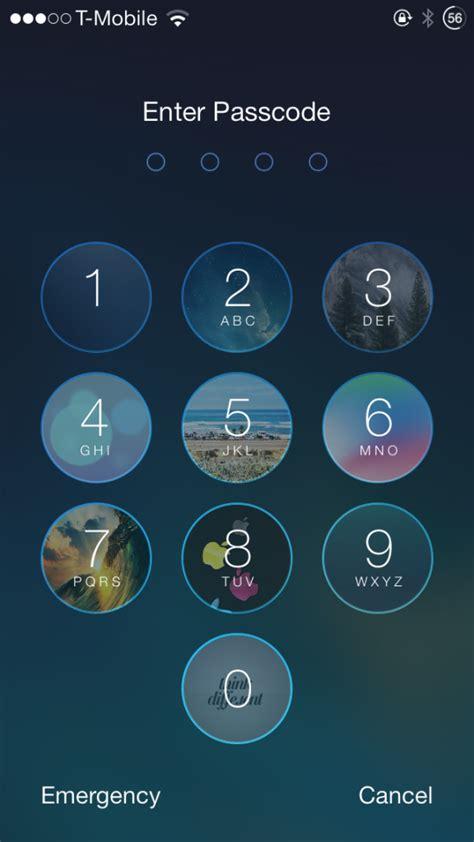 pattern lock jailbreak ios 8 faces add images to lock screen passcode keys redsn0w