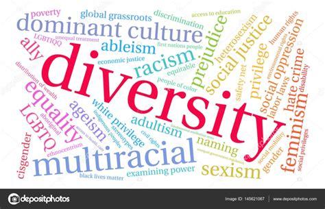 Diversity Detox by Diversity Word Cloud Stock Vector 169 Arloo 145621067