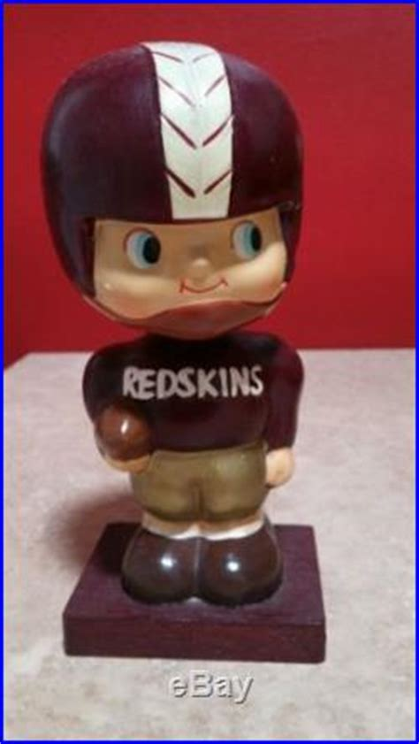 bobblehead 1960 s 187 vintage 1960 s washington redskins gem bobbleheadvintage