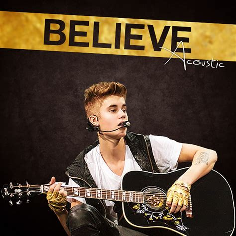 believe cover justin bieber believe acoustic album cover flickr